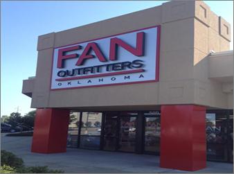 Fan Outfitters: 3600 W Main St, Norman, OK