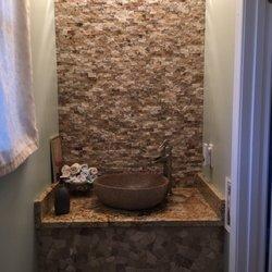 Photo Of Granite Discounter   Jessup, MD, United States. Half Bath Looks  Fantastic