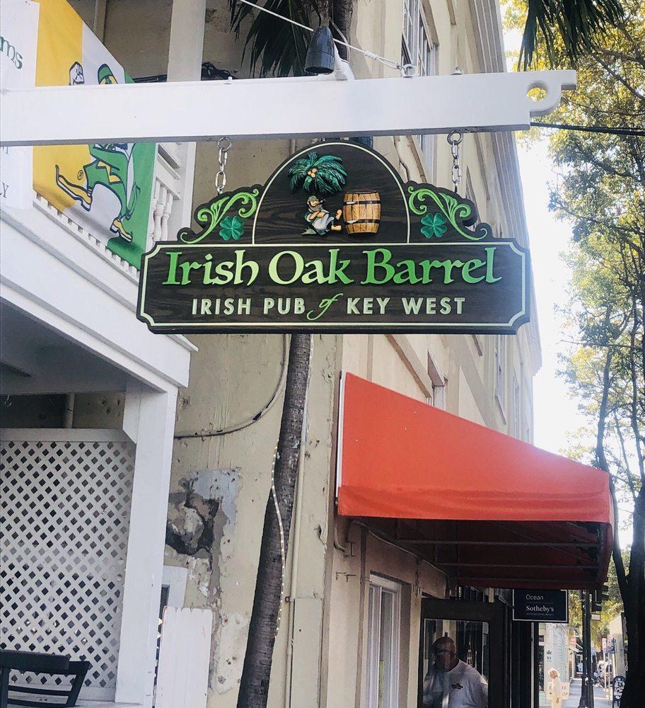Irish Oak Barrel: 506 Southard St, Key West, FL