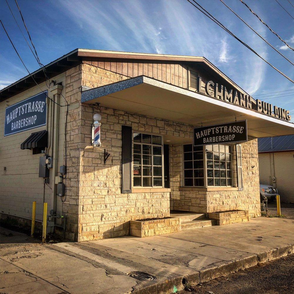 Hauptstrasse Barber Shop: 108 East San Antonio Ave, Boerne, TX