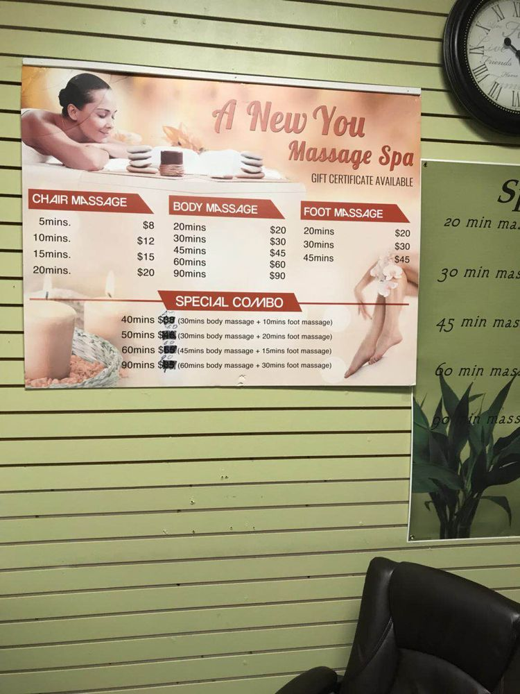A New You Massage Spa: 771 S 30th St, Heath, OH