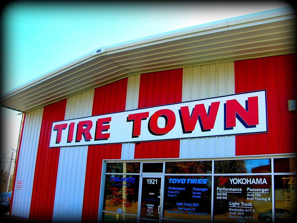 Tire Town: 1921 Military Rd, Benton, AR