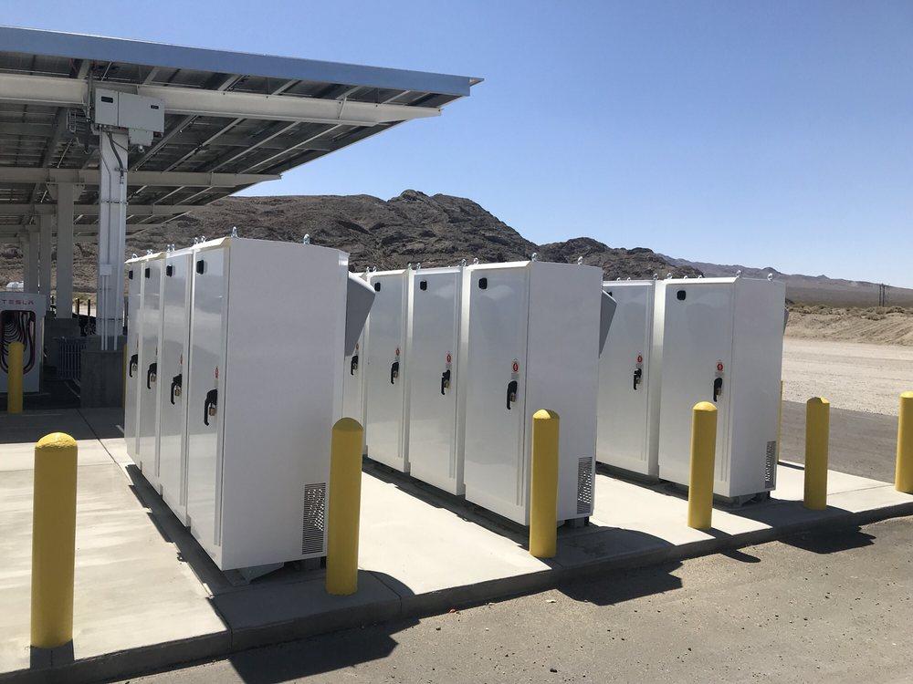 Tesla Supercharger - Baker: 71808 Baker Blvd, Baker, CA