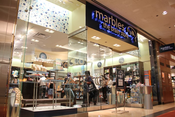 Marbles The Brain Store Water Tower Place Yelp - Marbles the brain store us map