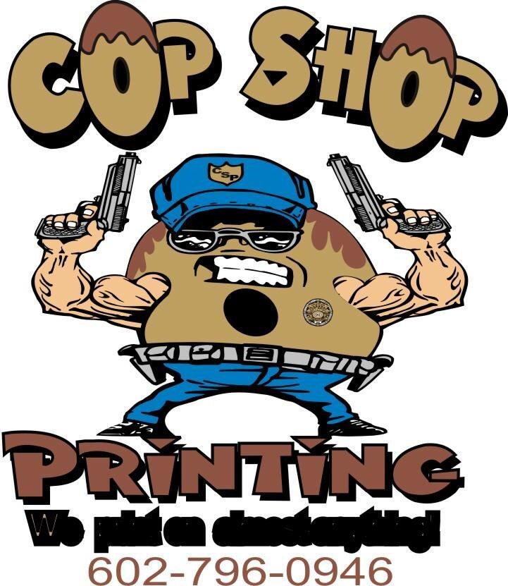 Cop Shop Printing