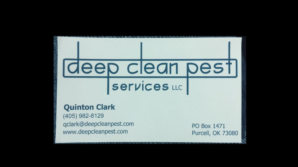 Deep Clean Pest Services: Purcell, OK
