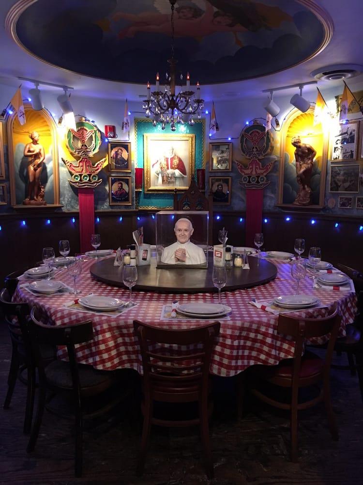 Restaurants Italian Near Me: Holy Pope Room