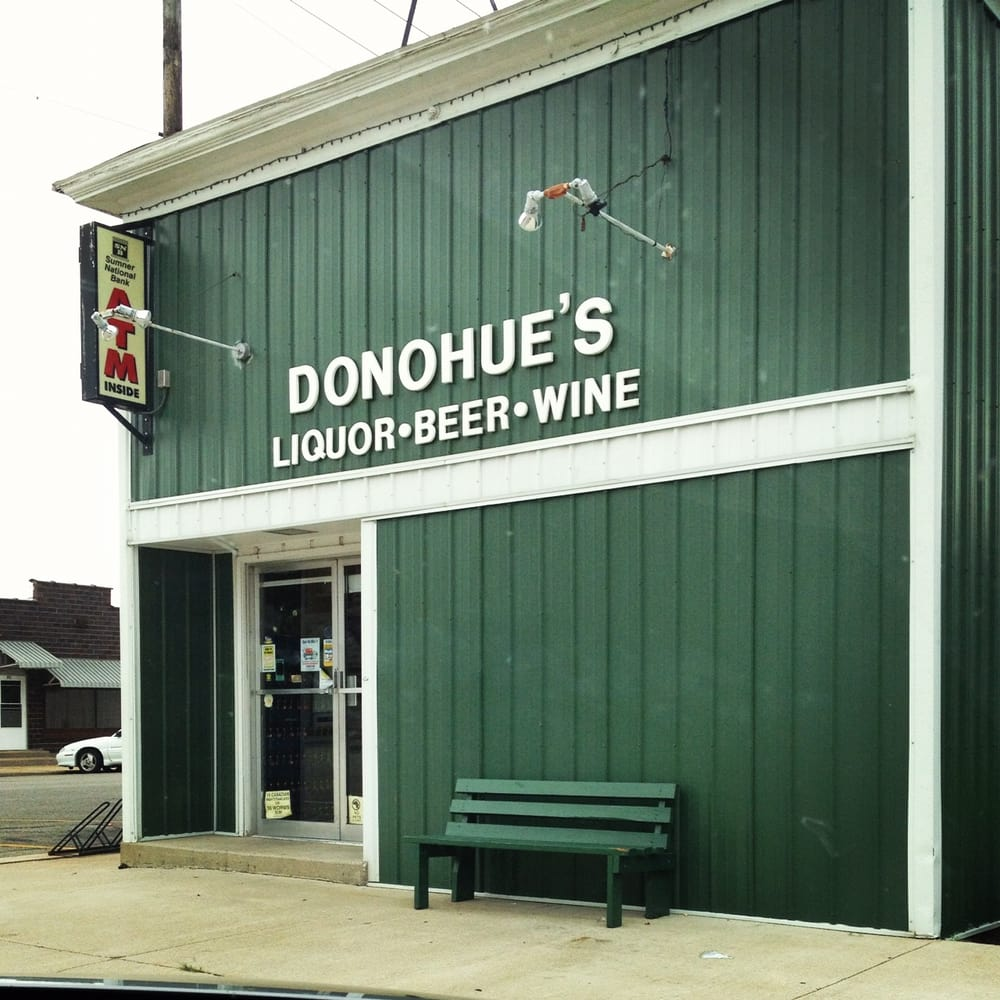 Donohue Package Store: 101 S 4th, Sheldon, IL