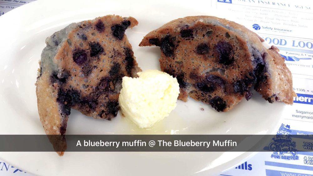 The Blueberry Muffin - Cedarville: 2240 State Rd, Plymouth, MA