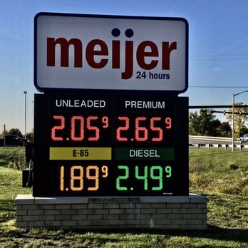 E85 Gas Stations >> Meijer Gas Station - Gas Stations - 4155 Morrish Rd, Swartz Creek, MI - Phone Number - Yelp