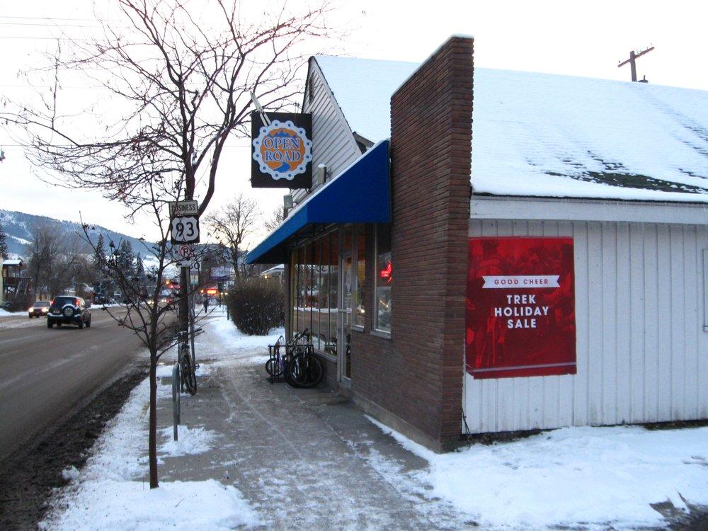 Open Road Bicycles and Nordic Equipment: 517 S Orange St, Missoula, MT