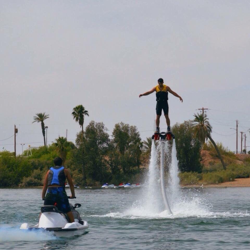 Waterbuzz Flyboarding: 1477 Queens Bay, Lake Havasu City, AZ