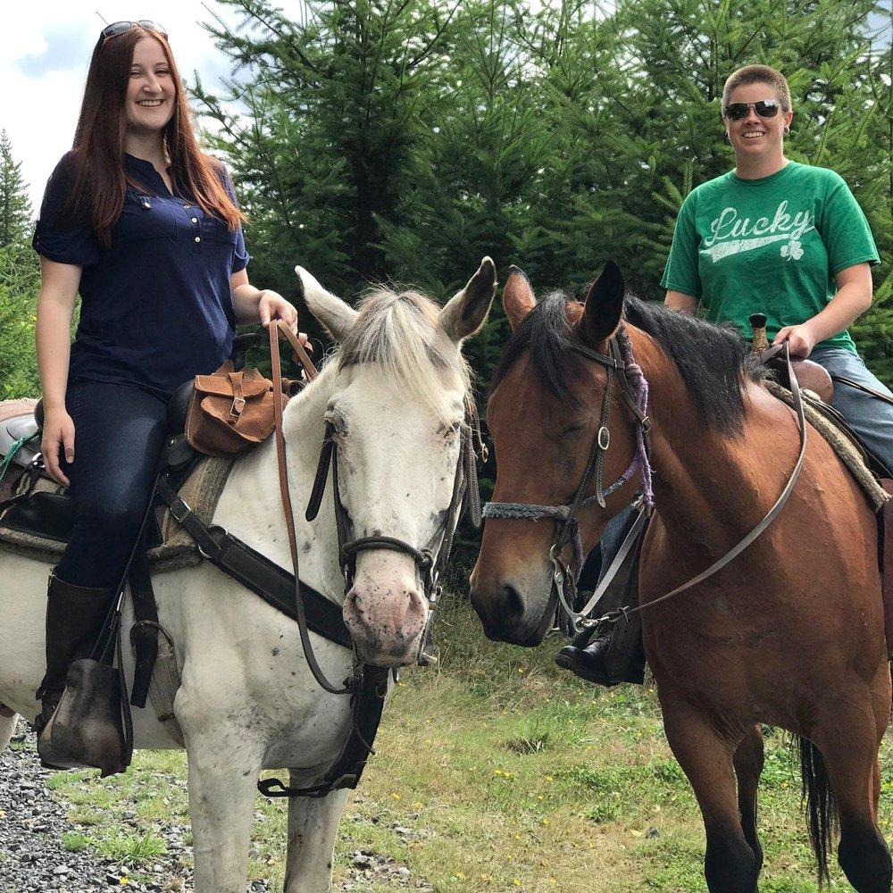 Eztimes Horse Rides: 18703 St 706 E, Elbe, WA