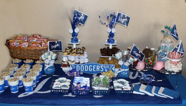 Dodgers Themed Dessert Table Yelp