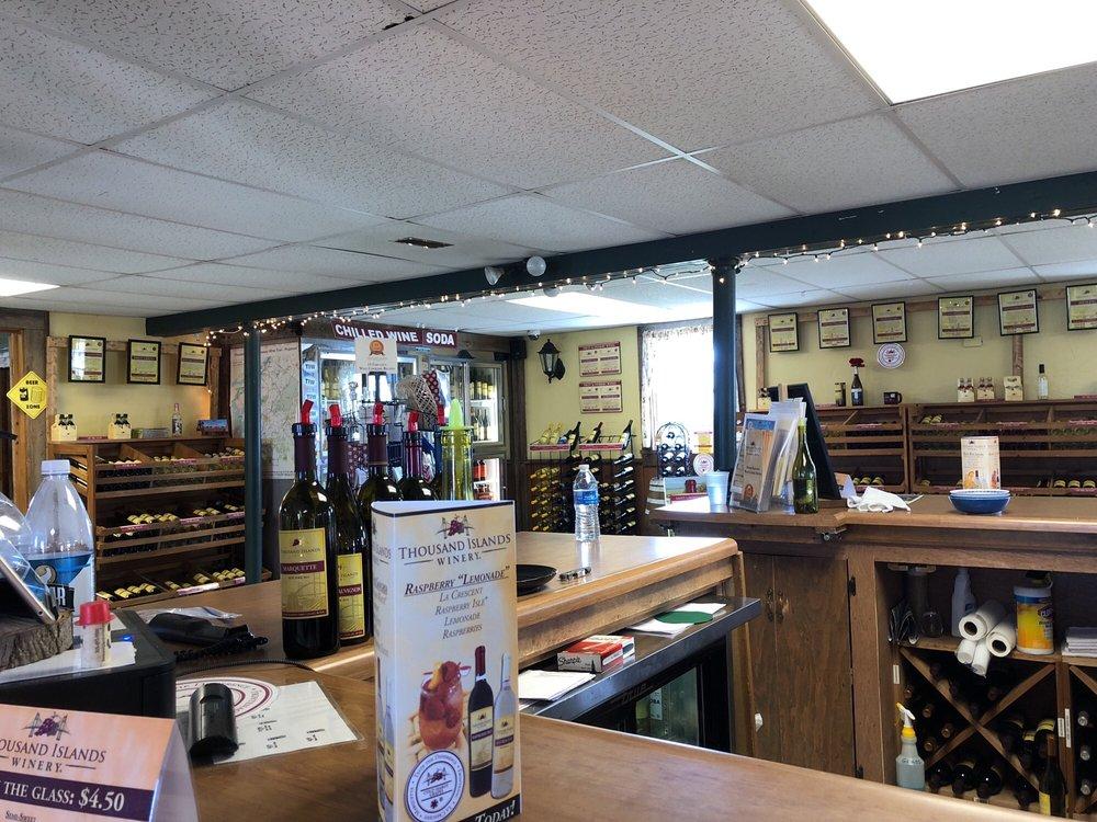 Thousand Islands Winery: 43298 Seaway Ave, Alexandria Bay, NY