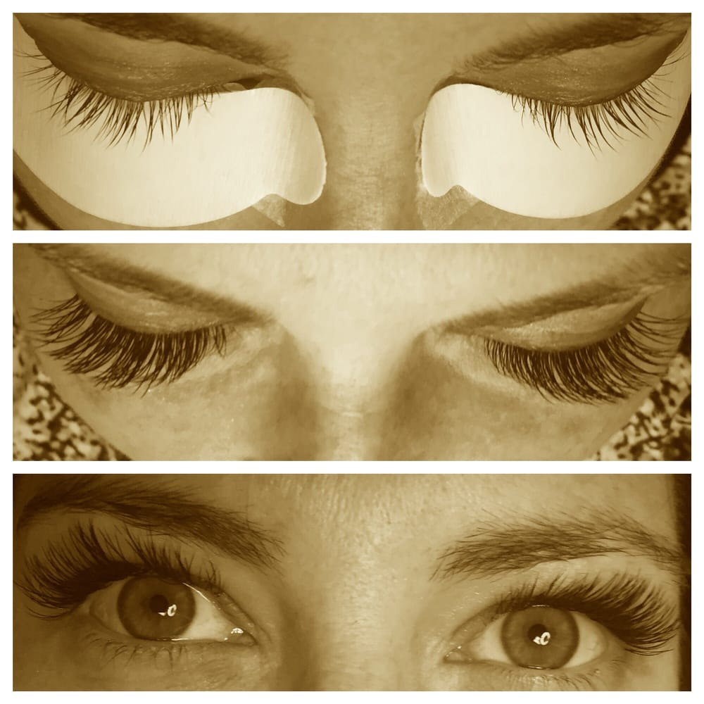 Before and after Xtreme eyelash extensions by Rebecca Lennon ...