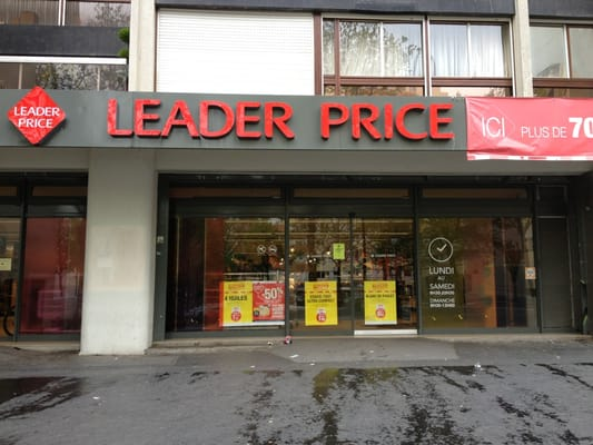 leader price convenience stores jardin des plantes austerlitz paris france photos. Black Bedroom Furniture Sets. Home Design Ideas