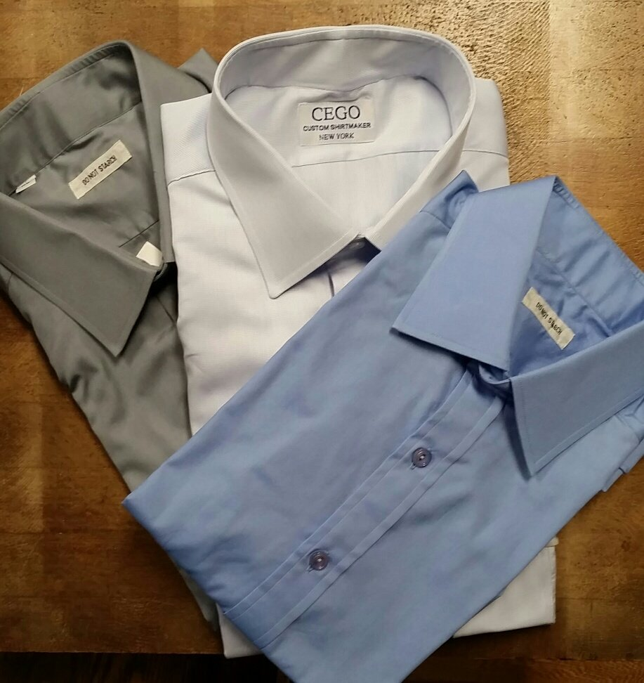 Cego custom shirtmakers 17 photos 21 reviews men 39 s for Custom dress shirts nyc