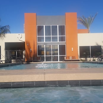 Photo Of Seven Luxury Apartments Phoenix Az United States Pool Area Looking