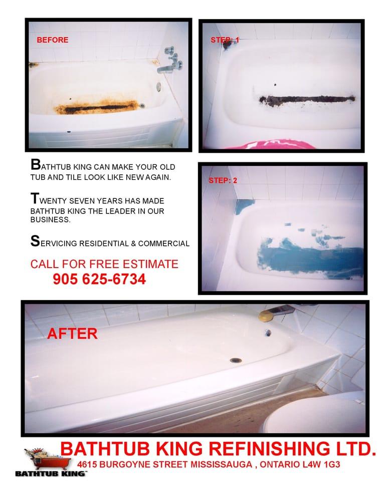 Wonderful Bathtub King   Refinishing Services   1115 Cerstlawn Drive, Mississauga, ON    Phone Number   Yelp