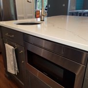 Painted Photo Of Keystone Kitchens   Woodinville, WA, United States. A  Microwave Drawer Hidden ...