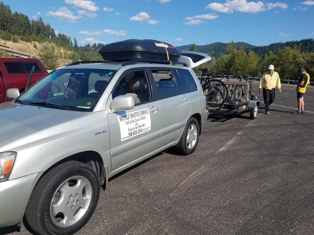 Lou's Bicycle Shuttle Service: Harrison, ID
