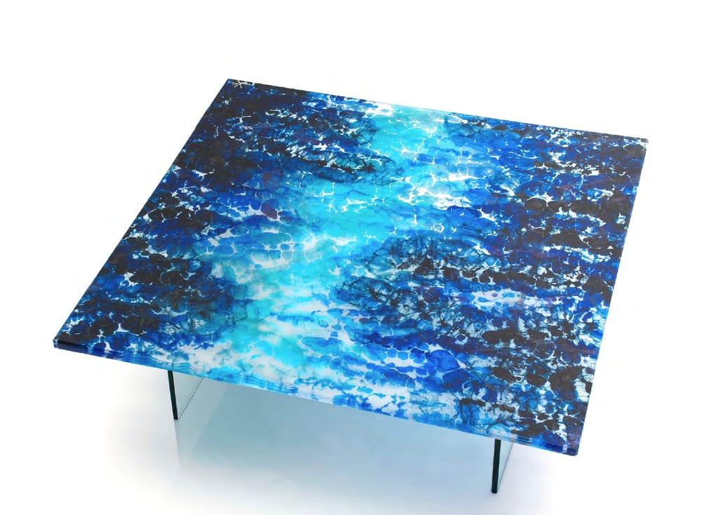 DESIGNLUSH - Boiled Glass Coffee Table - Yelp