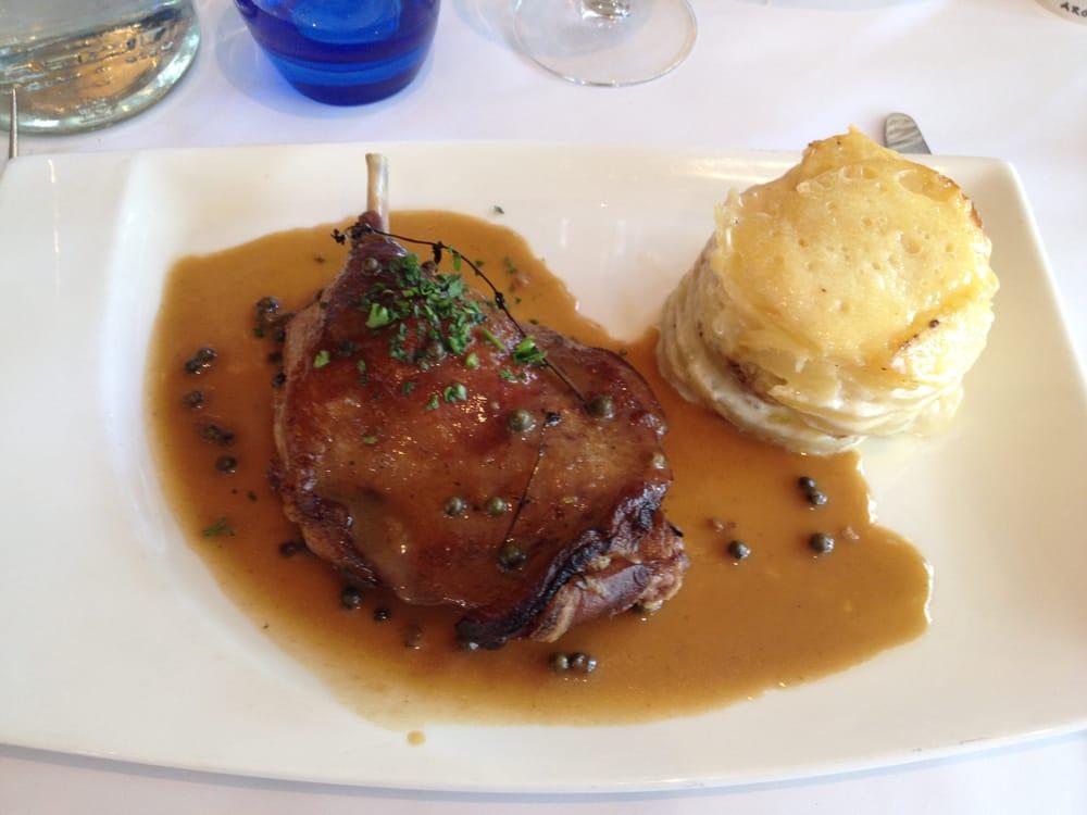 Cuisse de canard confite et son gratin dauphinois sauce au poivre yelp - Cuisse de canard en sauce ...