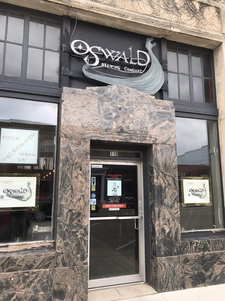 Oswald Brewing Company: 110 S Main St, Blue Earth, MN