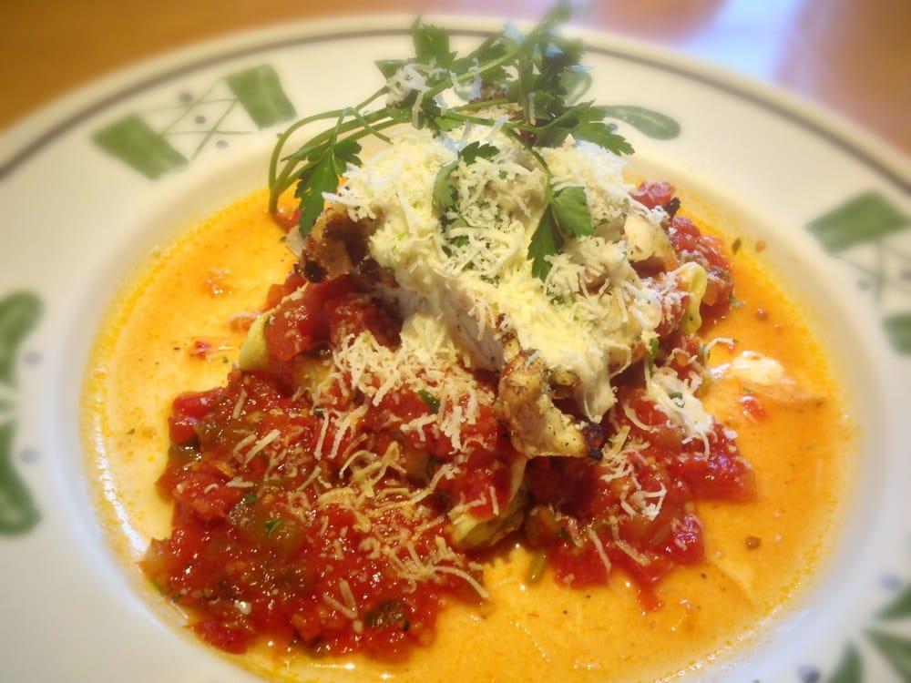 Lasagna primavera w grilled chicken yelp for Olive garden manhattan beach ca