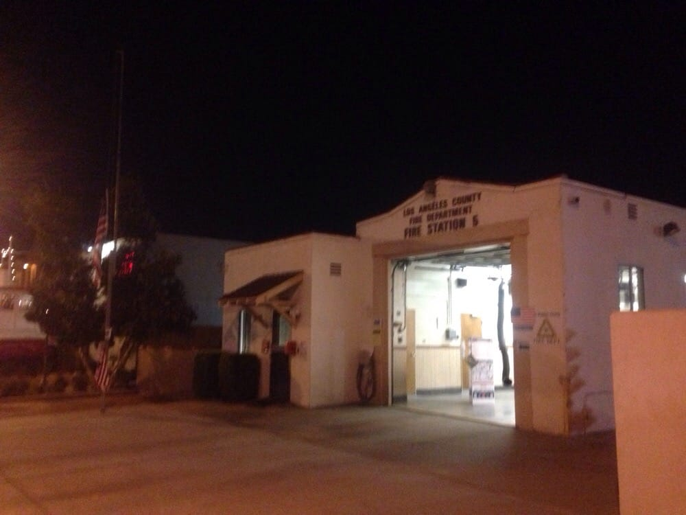 LACoFD Fire Station 5: 7225 Rosemead Blvd, San Gabriel, CA