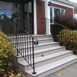 Photo Of Mainely Handrails   Benton, ME, United States. Exterior Iron Hand  Rails