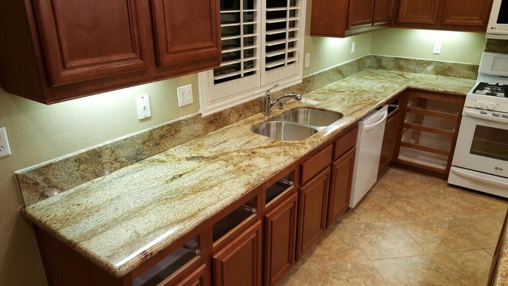 Counters Prefabricated Lapidus Granite Edge Full