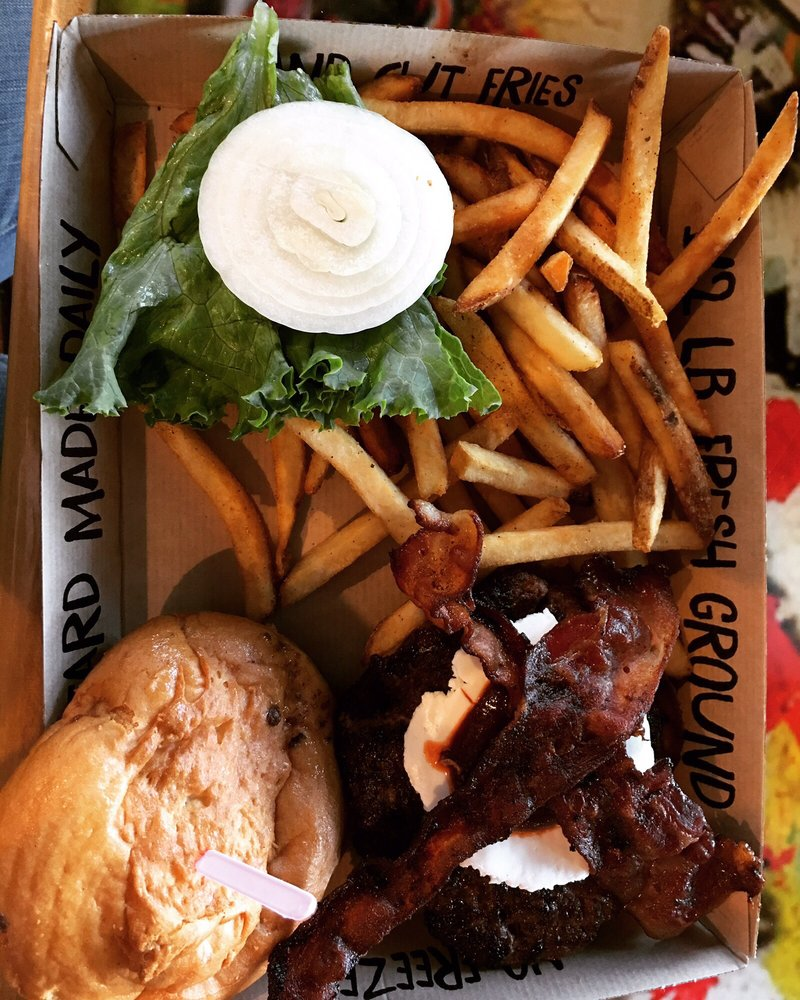 Twisted Root Burger: 333 S Chadbourne St, San Angelo, TX