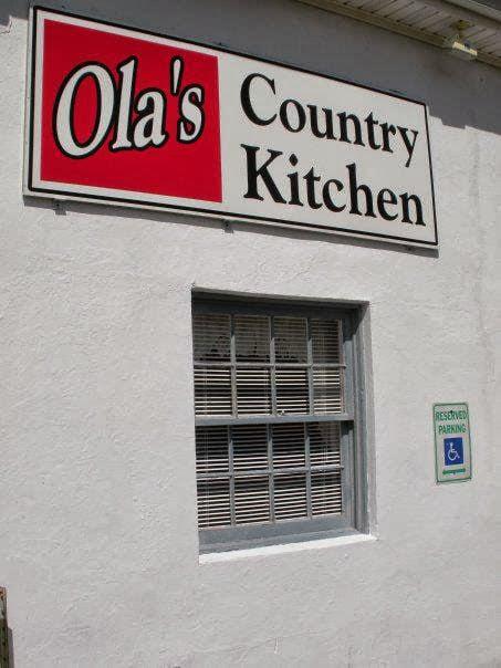 Ola S Country Kitchen Colonial Beach Va