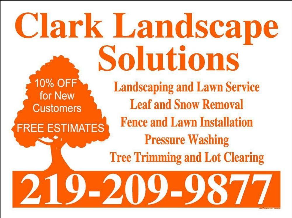 Clark Landscape Solutions: Kouts, IN