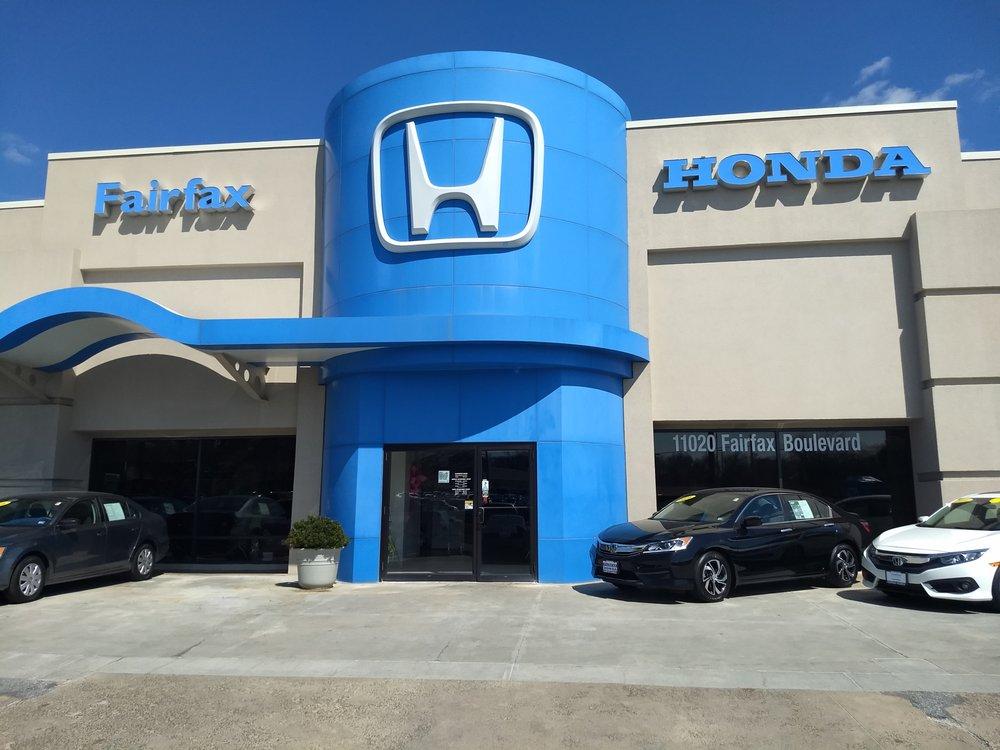 Rosenthal Fairfax Honda - Honda Dealer