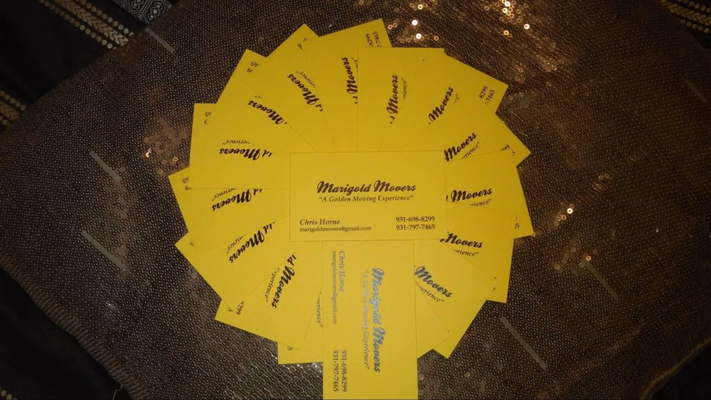 Marigold Movers: Columbia, TN