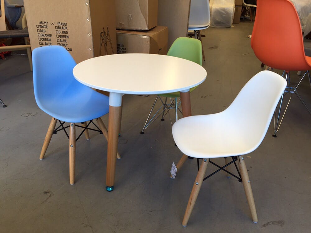 Photo Of Wire Home Furnishing Richmond Bc Canada Eames Kids Table And