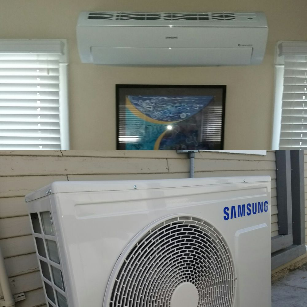 Samsung Ductless Split Install Yelp