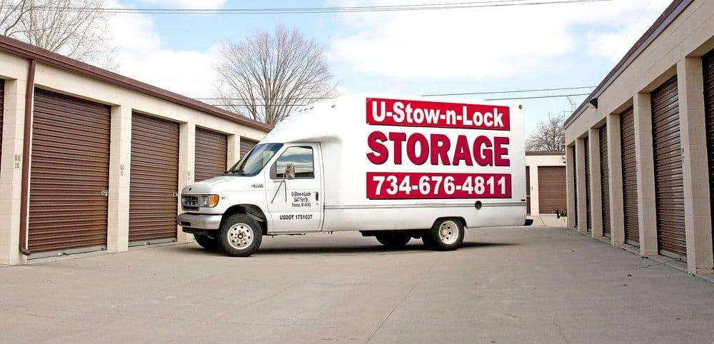 U-Stow-N-Lock Storage: 2447 Fort St, Trenton, MI
