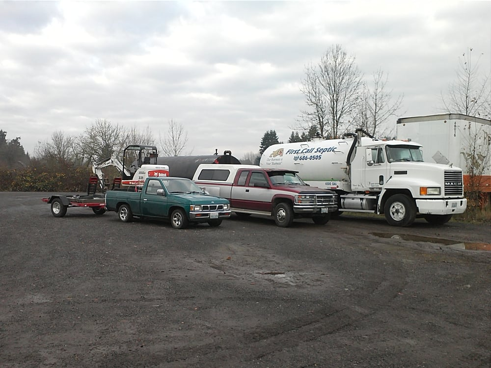 First Call Septic Services: 30202 NE 215th Ave, Yacolt, WA