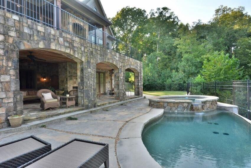 infinity pool backyard. Photo Of Mitchell Waters - Coldwell Banker Residential Brokerage Cumming, GA, United States Infinity Pool Backyard