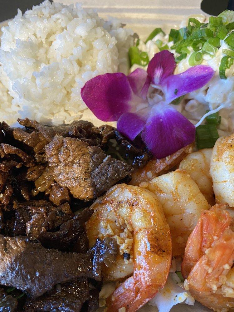 Food from Kokonut Island Grill