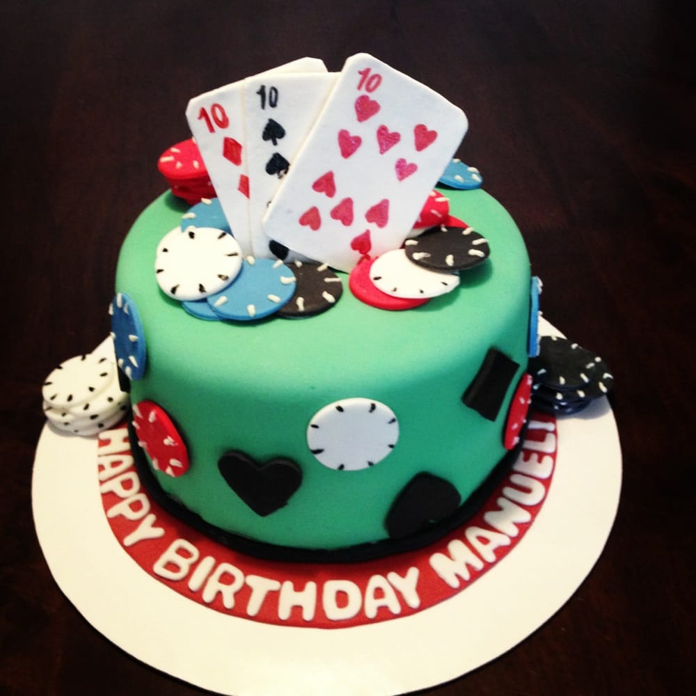 Poker Themed 30th Birthday Cake Yelp