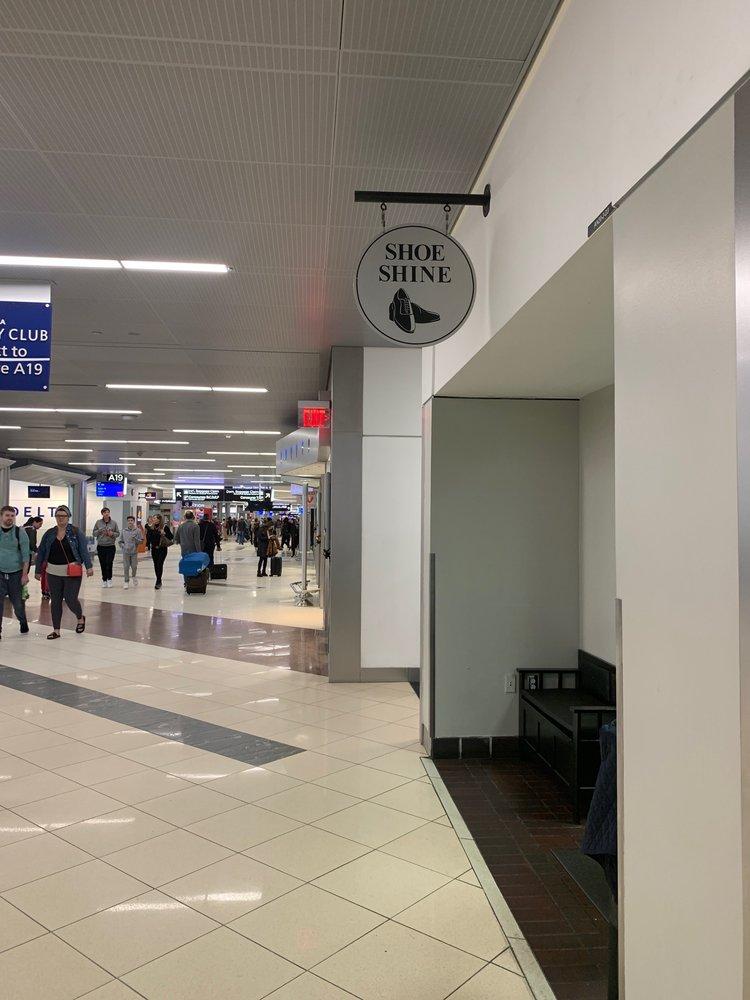 Shoe Shine: 6000 N Terminal Pkwy, Atlanta, GA