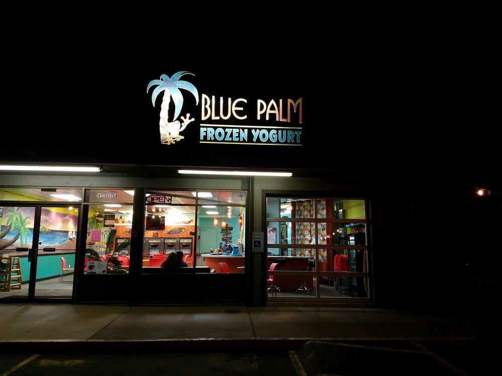 Blue Palm Frozen Yogurt: 1417 Plaza Way, Walla Walla, WA