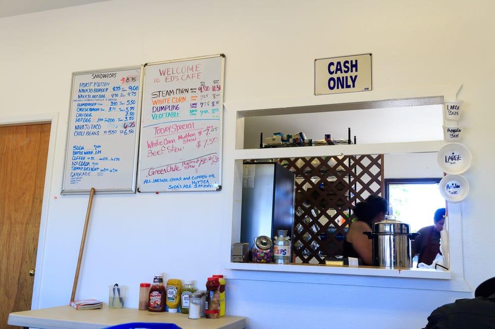 Ed's Cafe: Ch'ihootso Indian Market Pl, Window Rock, AZ