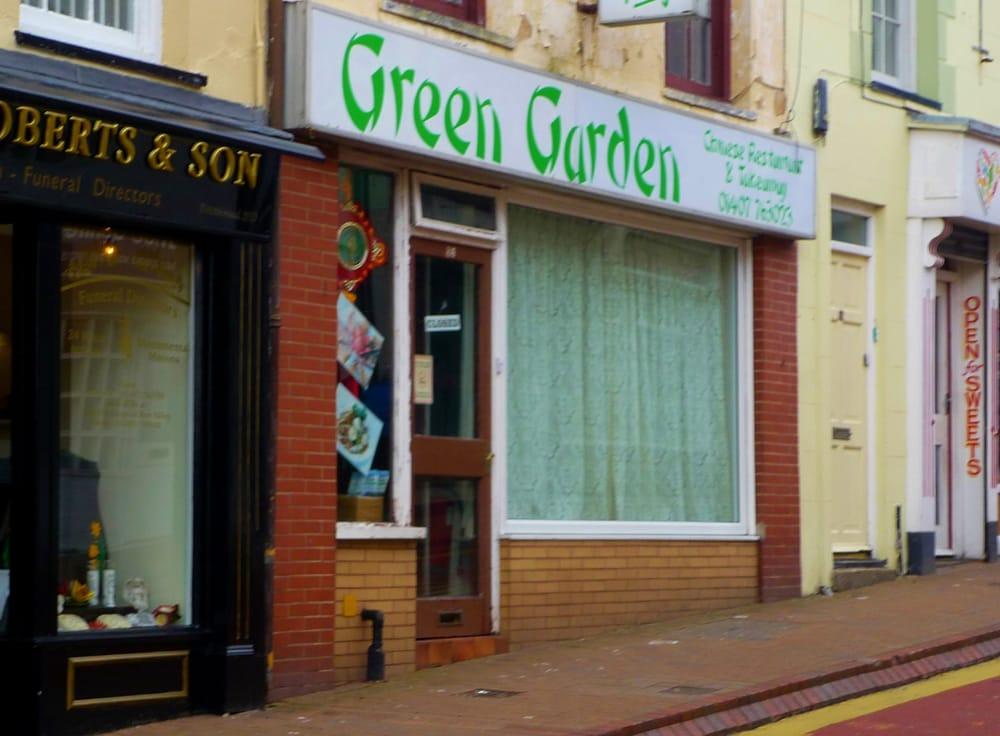 Green Garden Chinese 86 Market Street Holyhead Isle Of Anglesey United Kingdom