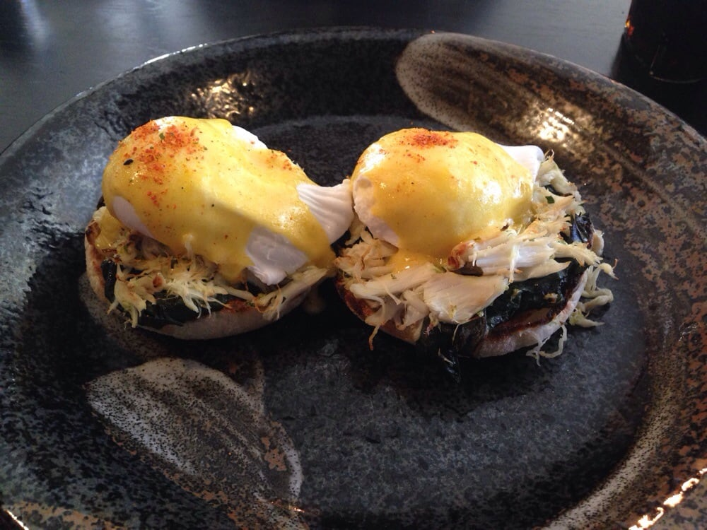 Crab benedict yelp for Gt fish and oyster chicago
